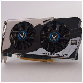 AMD Radeon HD 7770 GHz Edition 1GB GDDR5 (Sapphire HD 7770 GHz Edition 1GB GDDR5 VAPOR-X PCI-E DVI-I/DVI-D/ HDMI/DP OC Version)
